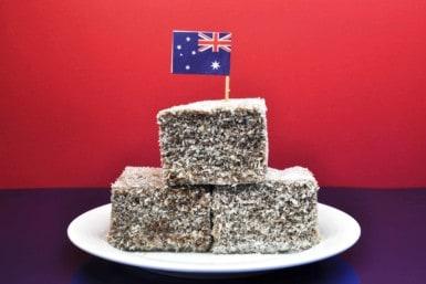 Australia Day Party Food Lamingtons