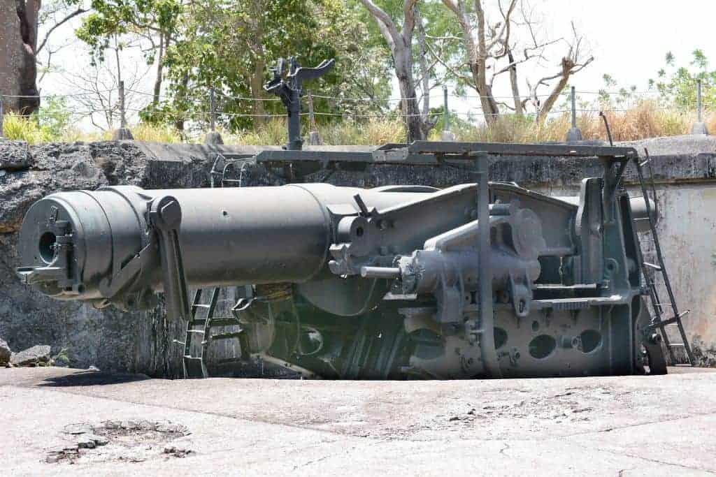 WWII Era Cannon Corregidor