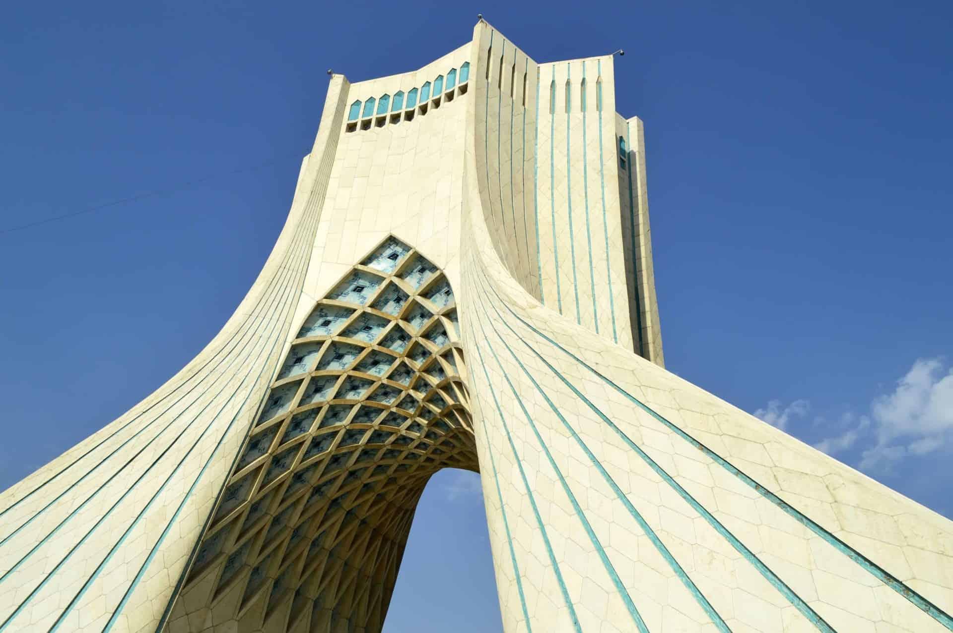 Azadi tower symbols of Tehran City, Iran