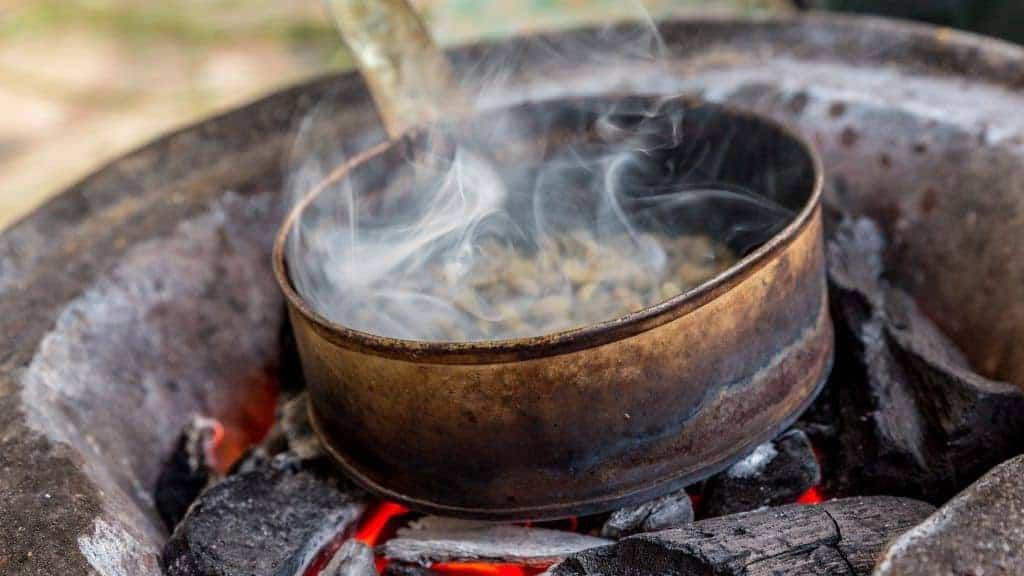 Attend a coffee ceremony