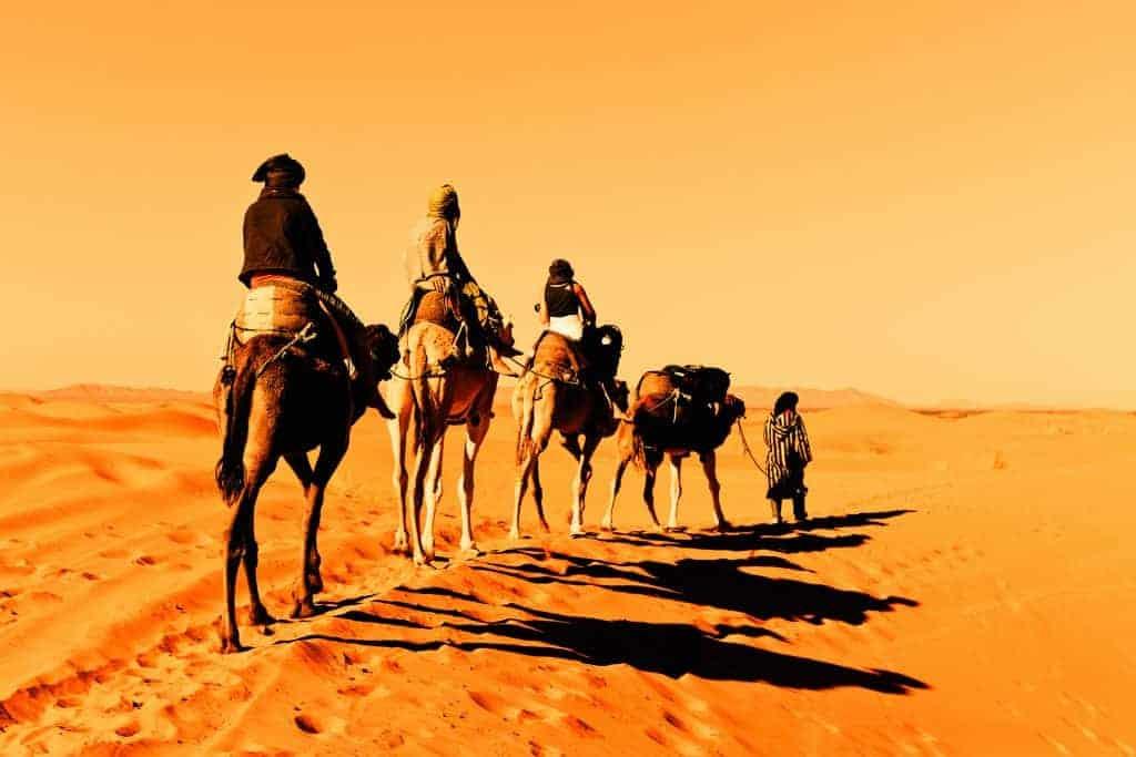 Retrace the old Arabian caravan routes