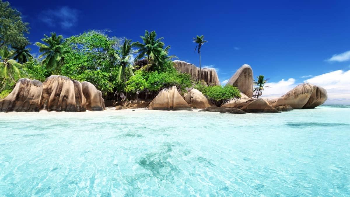 Anse Source d'Argent beach, La Digue island, Seyshelles