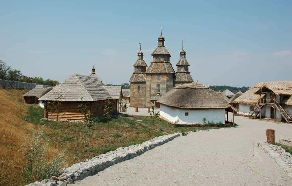 Ukrainian cossack village