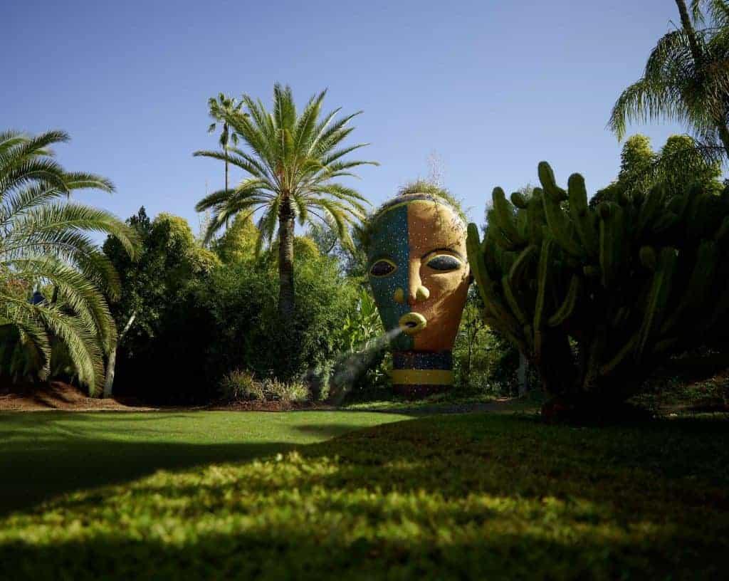 visit a botanical garden moroco