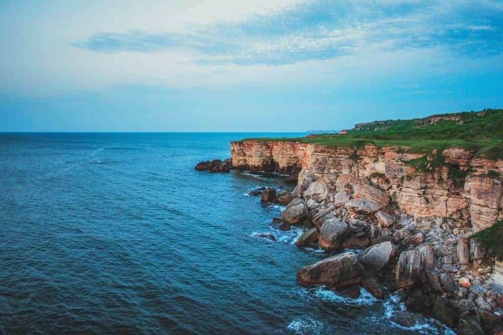 Sunbathe at the Black Sea coast