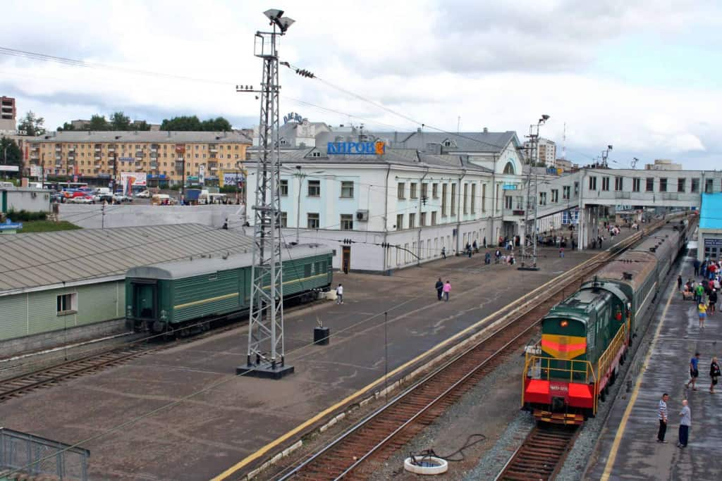 Take a ride on the Trans-Siberian Railway