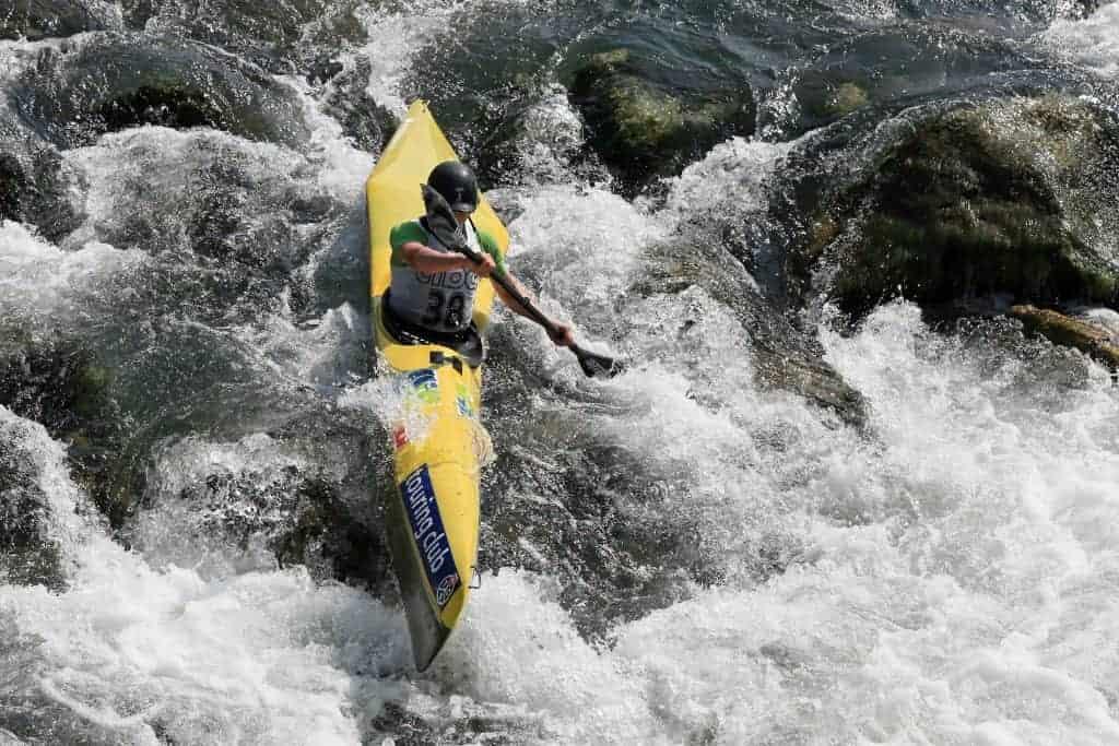 Ride a kayak