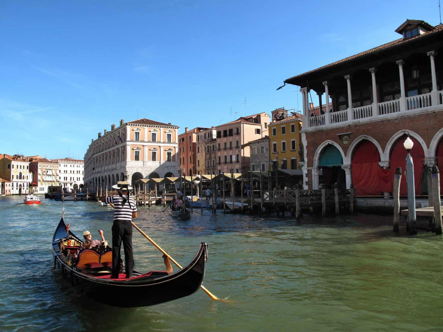 Ride a gondola