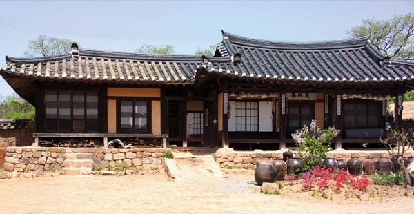 Yogwan in South Korea
