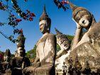 This image shows the Buddha Park, Vientiane. Laos