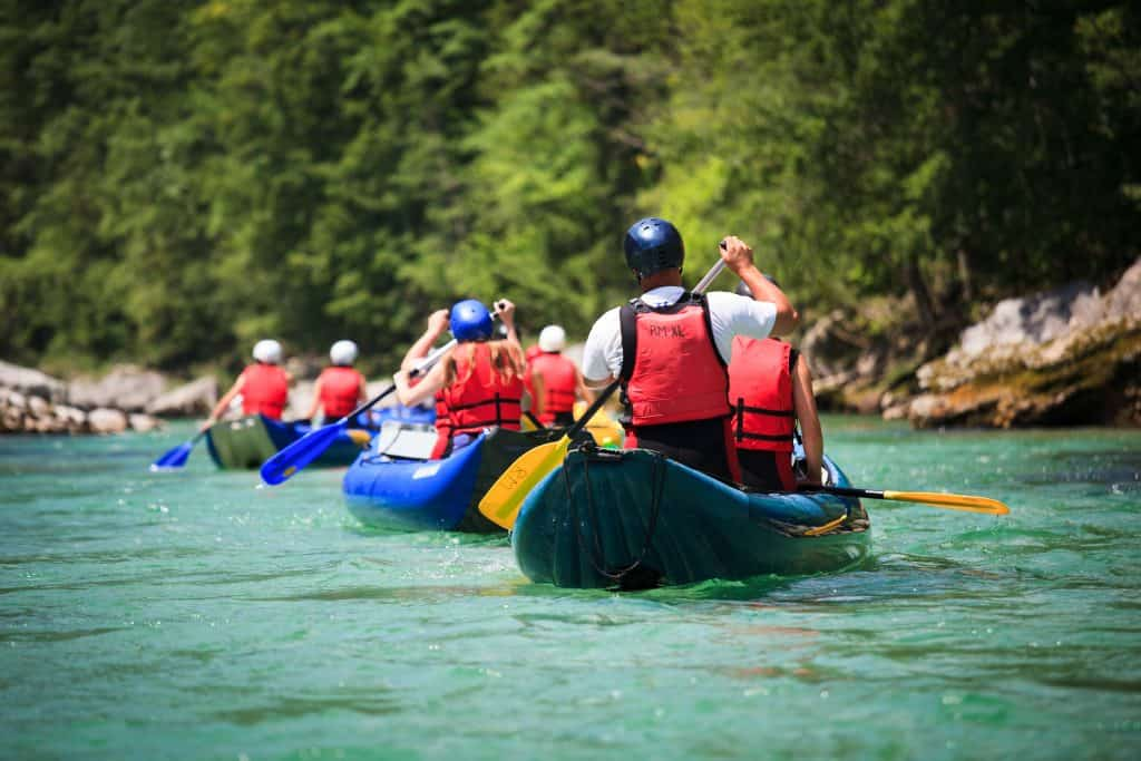 Try whitewater rafting