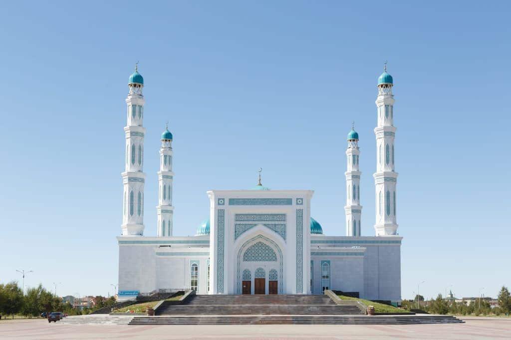 Karaganda oblast mosque. Karaganda, Kazakhstan