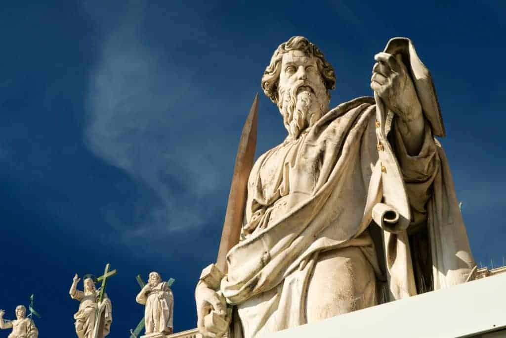Trace the path of Apostle Paul