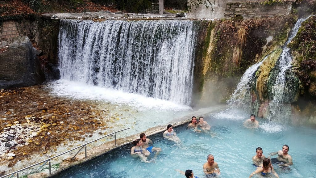 Experience thermal spa