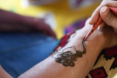 Get a mehndi tattoo