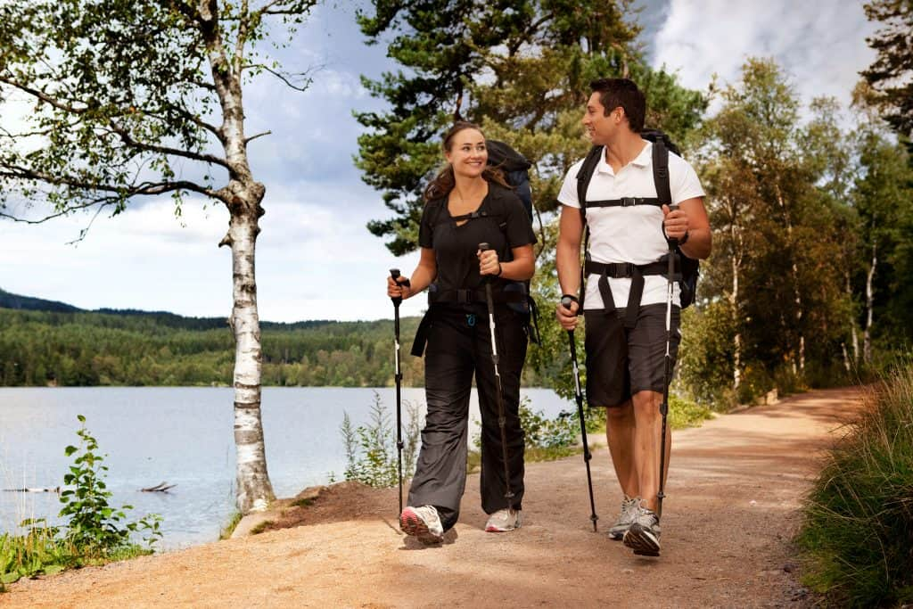 Try Nordic walking