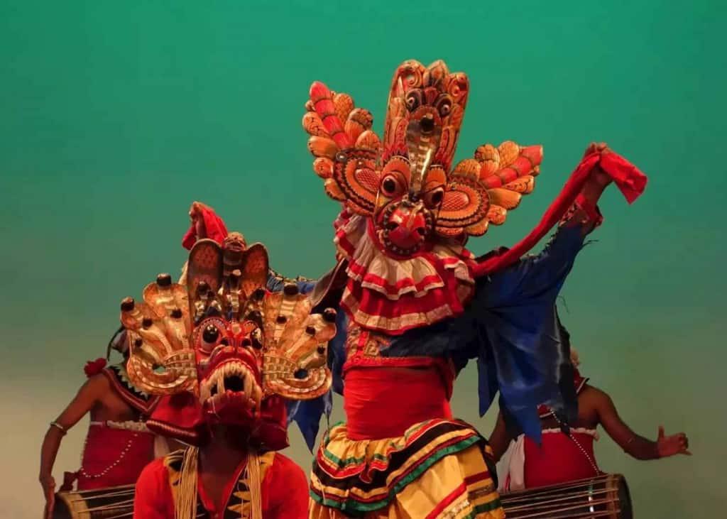 Watch a Kandyan dance