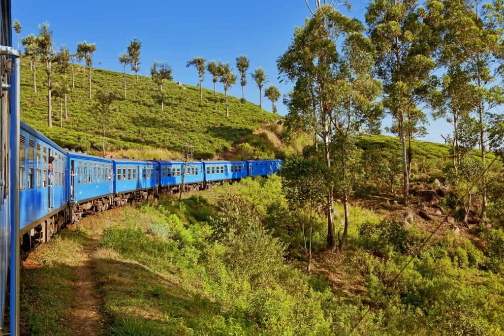 Take a scenic train ride