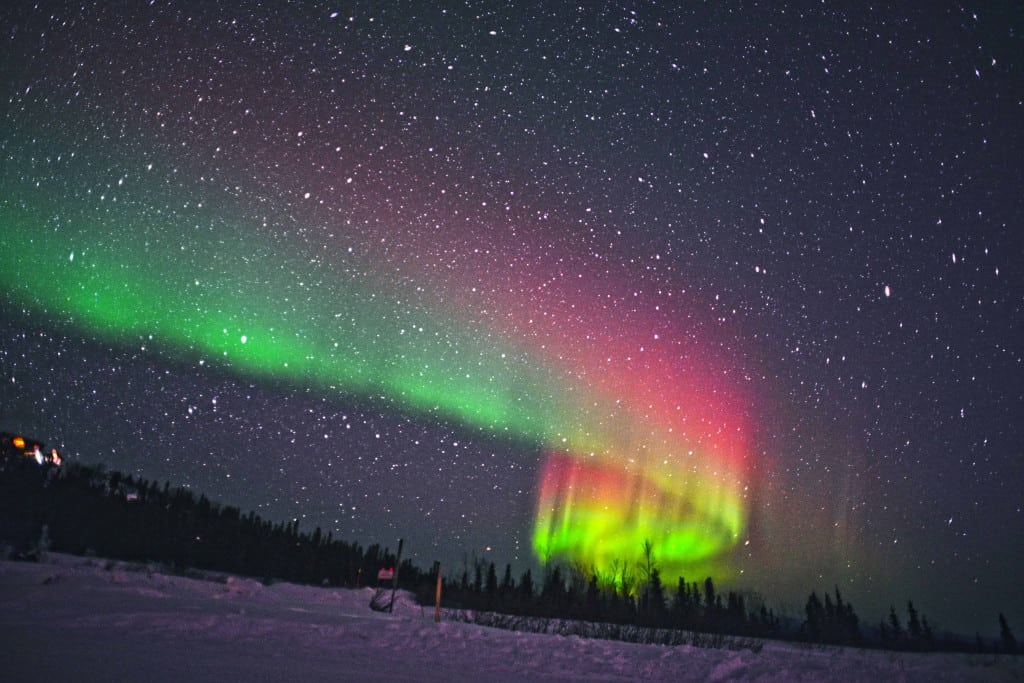 Be dazzled by the northern lights