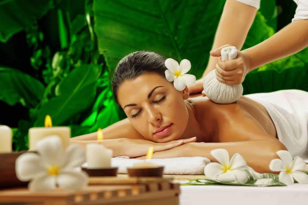 Relax at a natural spa
