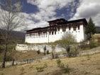 Paro Dzong (Monastery) near the town of Paro in the Kingdom of Bhutan.