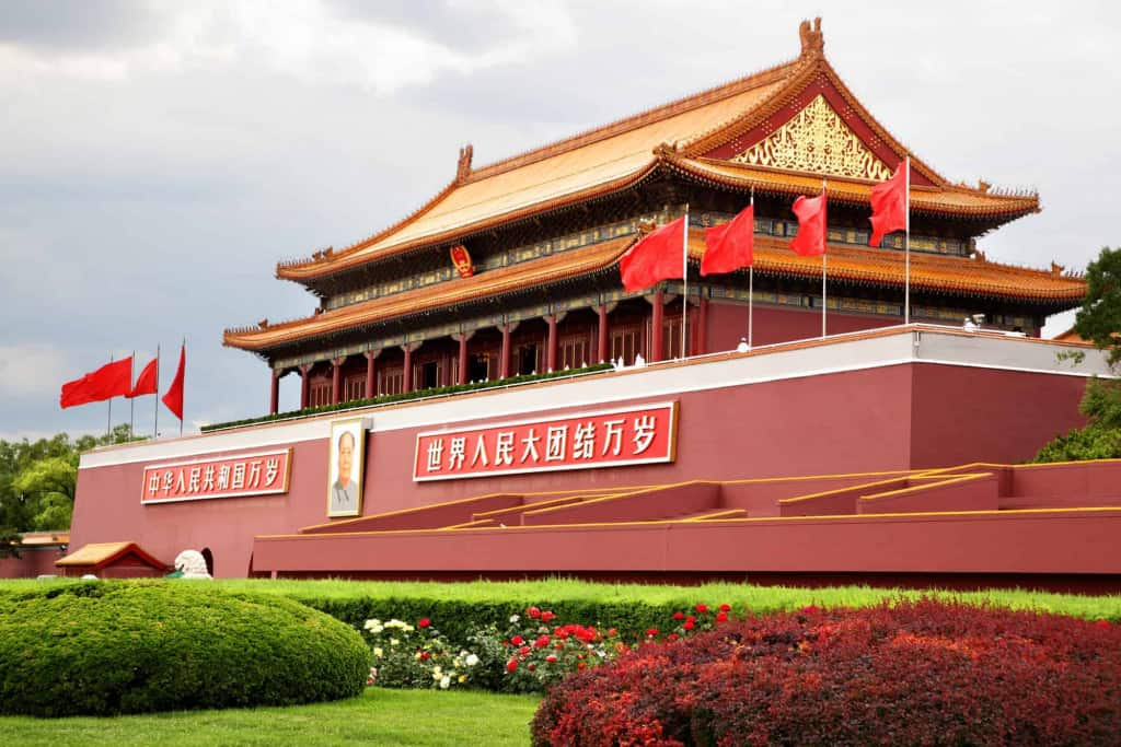 tiananmen in china