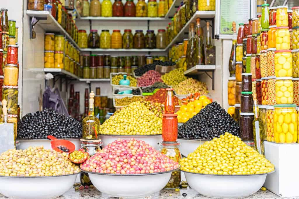 stall in a souk
