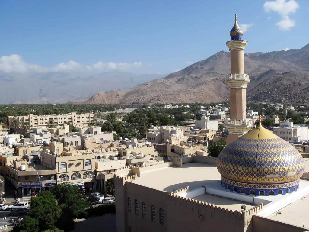 The Nizwa Fort and Mosque