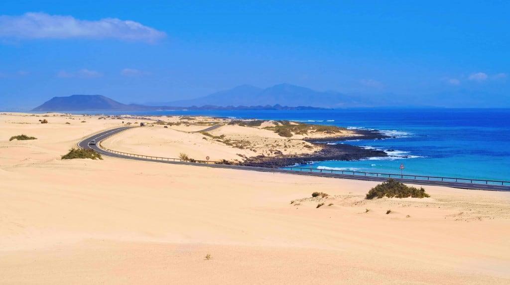 Beach at Corralejo