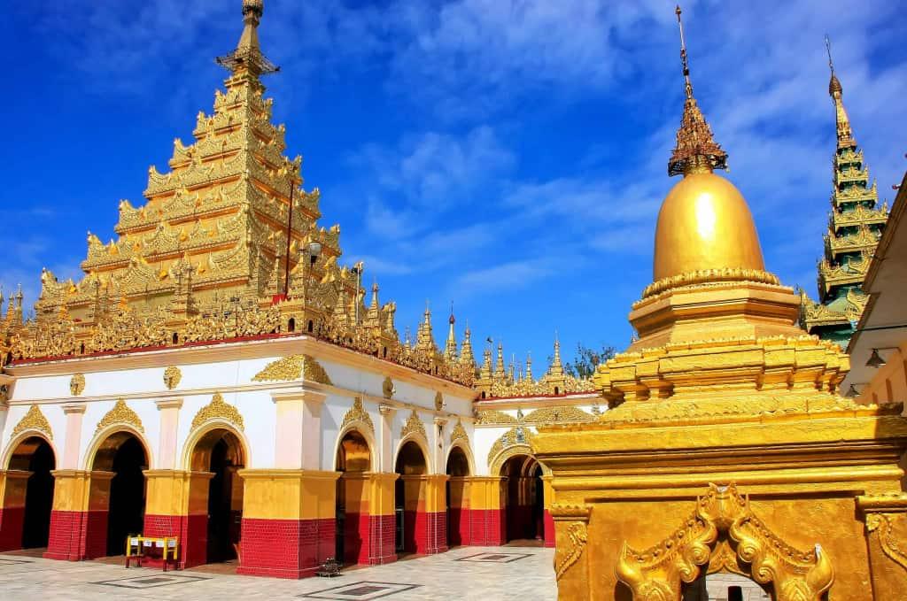 Mahamuni Paya temple in Mandalay
