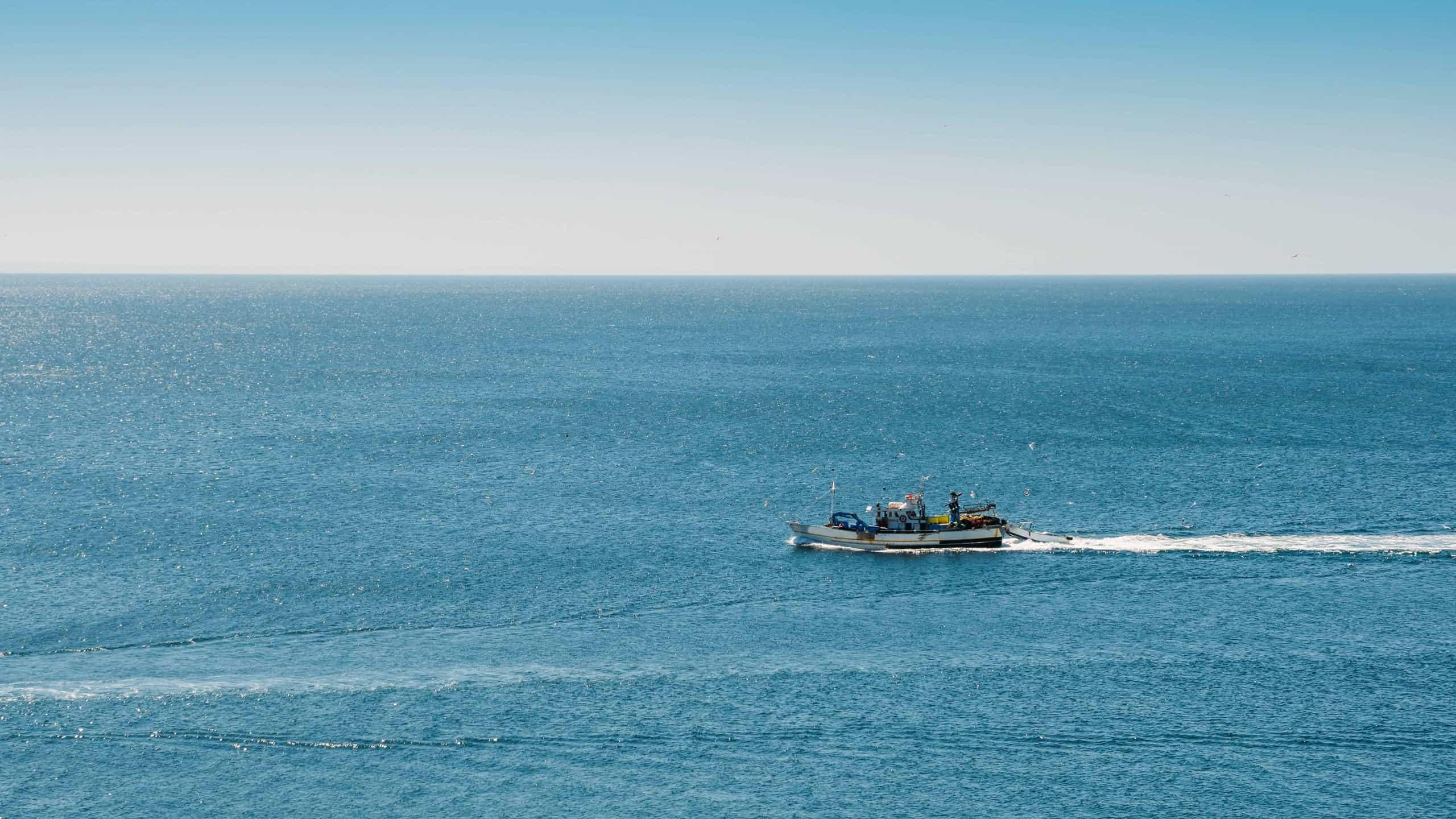 Small fishing boats at Lanzarote
