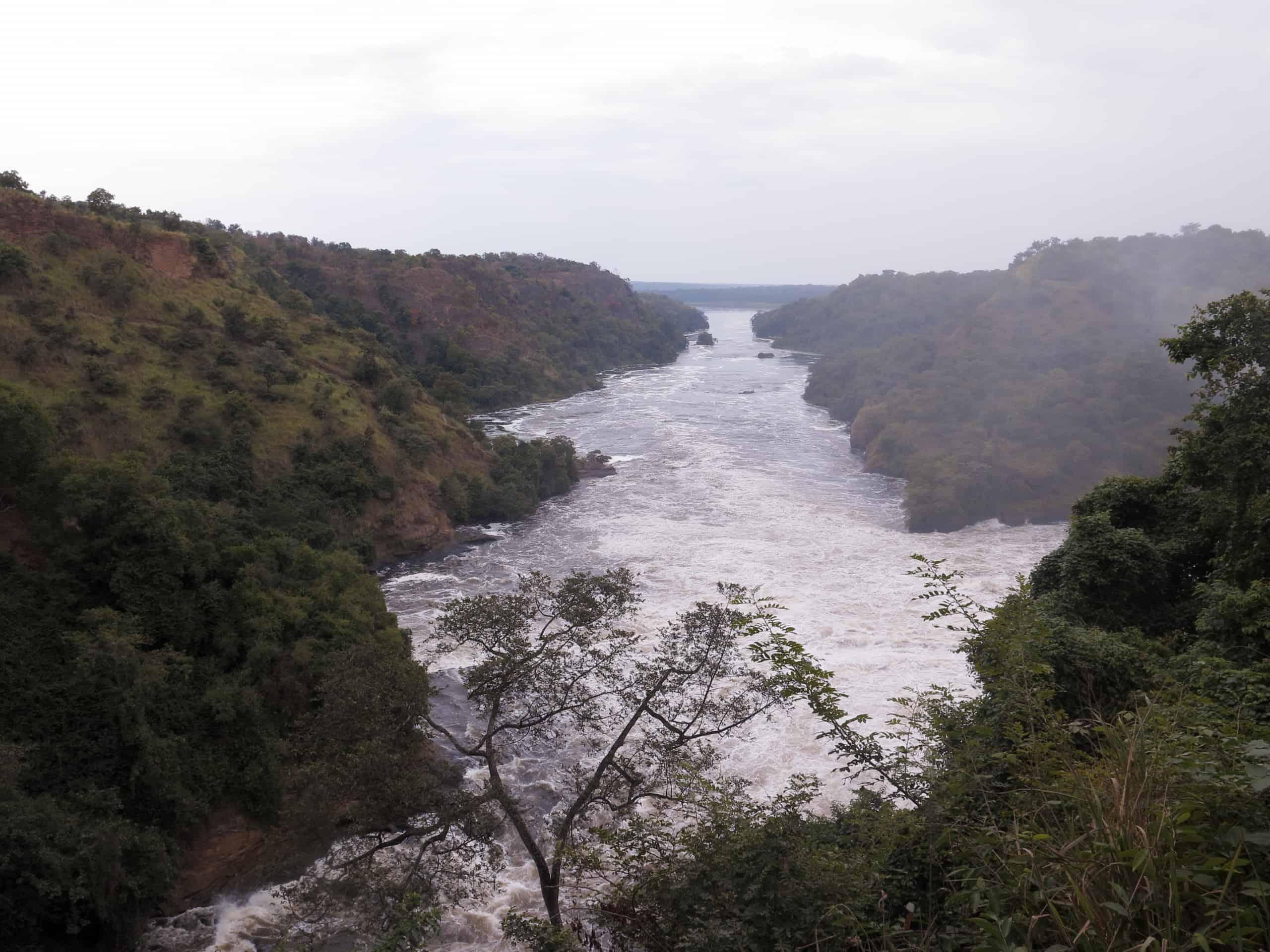 Top of the Falls, Murchinson Falls National Park, Uganda, August 2018