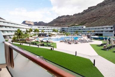 Sun bathing in Gran Canaria