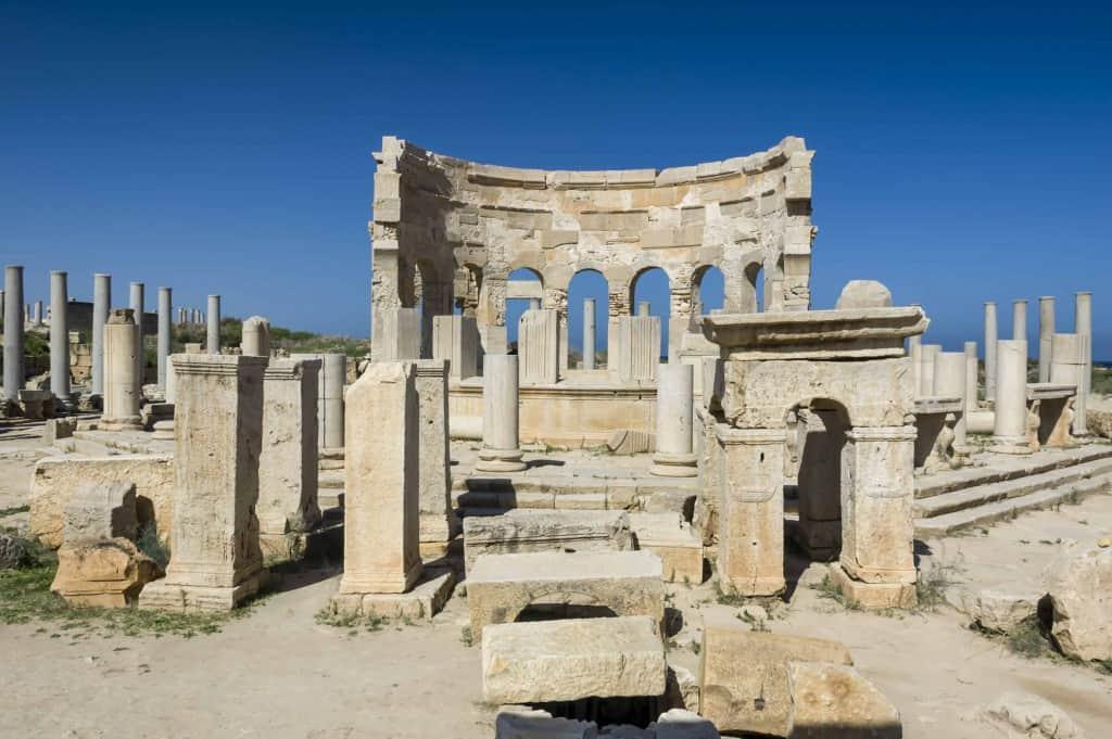 Ruins at Leptis Magna