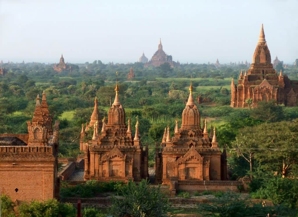 Buddhist temples in Bagan