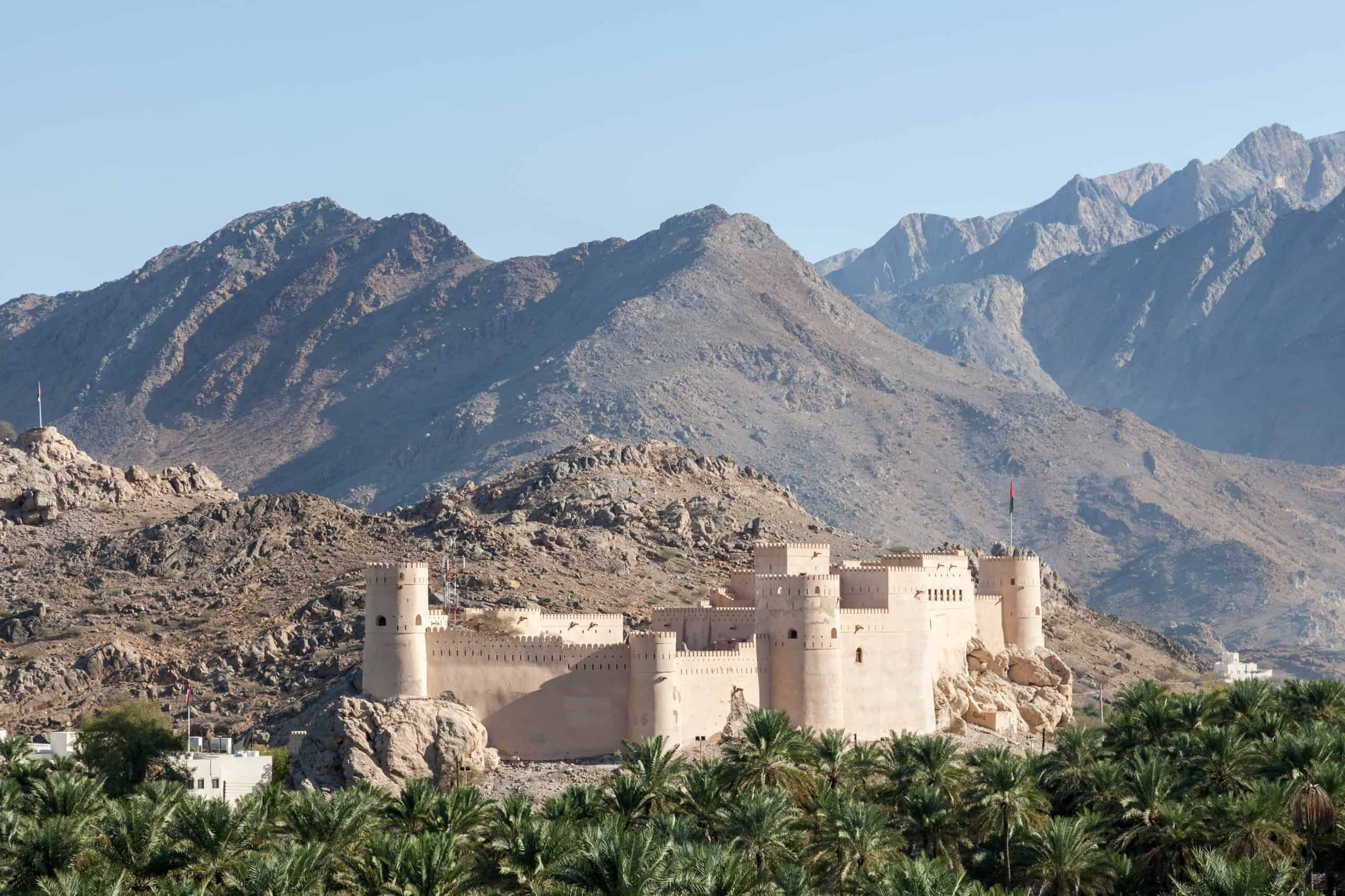 The Nakhal Fort